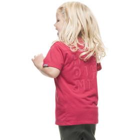 Houdini Kids Rock Steady Tee Amaranth Pink